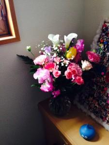 お花とスライム